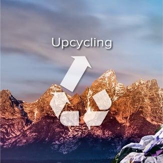 Müllberge vermeiden - Upcycling