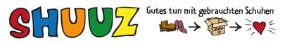 shuuz-Logo und Claim